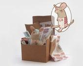 Nordic Christmas Mouse Plush Kit