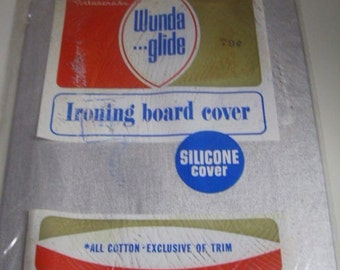 Vintage Ironing Board Cover Silicone Cover Wunda Glide Deadstock Cotton
