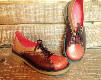 Handmade leather shoes AUTUMN