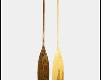 Glacier Wear Ash Canoe Paddle Beavertail