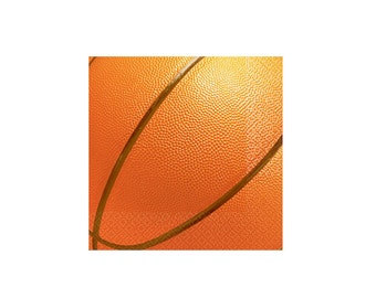 Basketball NBA Paper Napkins - Lunch Napkins, Party Supplies, Tableware