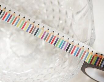 Pencil Washi Tape