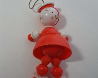 Plastic Crib Toy Bouncing Bobber Rattle