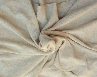"100% Linen JERSEY Knit Fabric By Yard KHAKI 60""W 4/7/16"