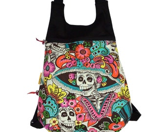 "Backpack Ou ""Día de La Catrina"""