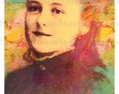 St. Therese of Lisieux Beautiful 11x17 or 8.5x11 inches Poster. New and Unique Inspirational Image of Devotion