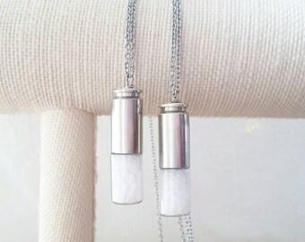 supernatural necklace - supernatural jewelry - supernatural salt necklace - supernatural - cosplay necklace - supernatural cosplay jewelry