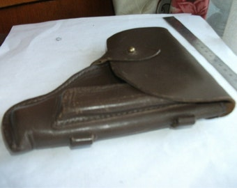 Deadstosk. Holster gun PM Makarov of the Soviet officer  Red Army. Military vintage of the USSR / CCCP condition  Good