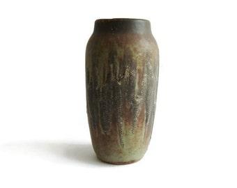 Vintage fat lava ceramic vase Scheurich 242 20 Lora decor, West German Pottery