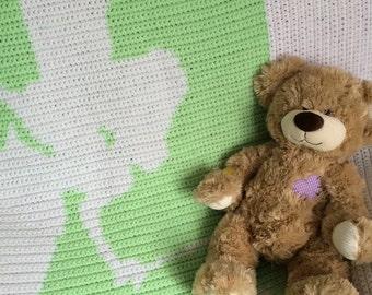Fairy Silhoutte Baby Blanket