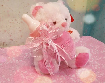 plush teddy bear with music