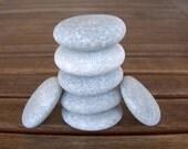 9 Medium Round Flat Stones,Beach Stones,Zen Stones,Zen Rocks,Mandala Stones,Eggs For Painting,Oval Eggs Rocks,Crafting Egg Stones, RTS