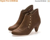 FINAL BOOTS SALE Amy, Ginger Boots, Heels, Leather Boots, Handmade shoes by Tamar Shalem