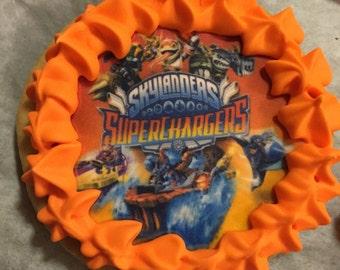 Skylander superchargers favor cookies