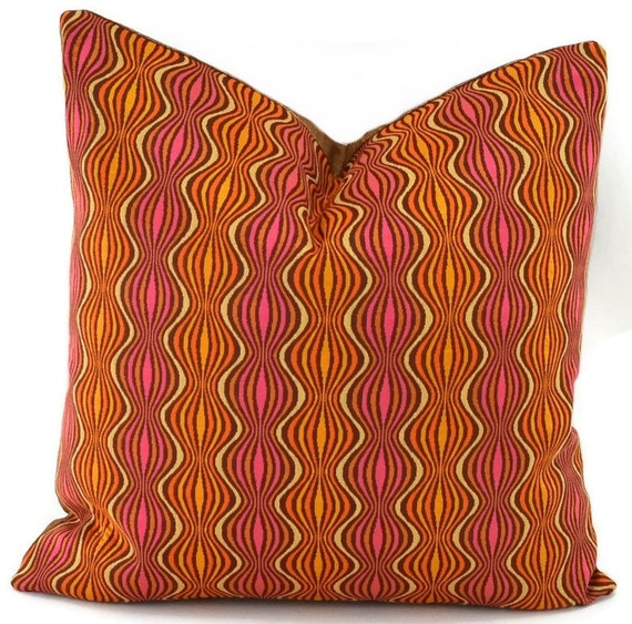 Mid Century Throw Pillow : Throw Pillow Cover Mid-Century Modern Design Pillow Cover