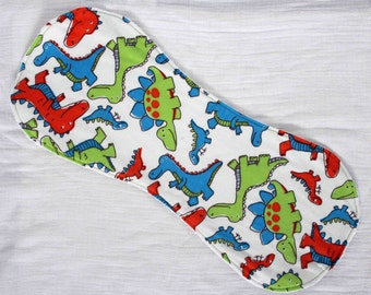 Dinosaurs Contoured Burp Cloth