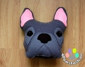 BENNY thr French Bulldog plush toy Frenchie stuffed pet portrait throw pillow birthday gift OOAK / 4PawsFashion