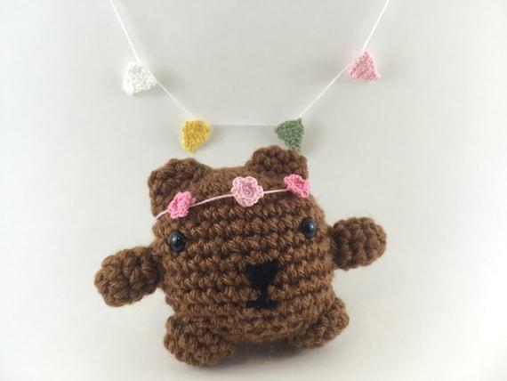 Amigurumi Mini Bear : Mini amigurumi bear amigurumi bear crochet bear tiny bear