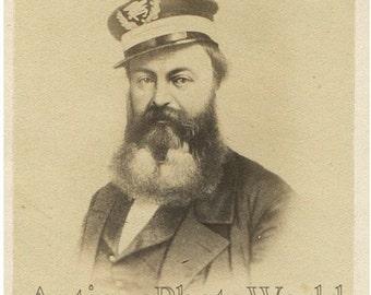 William D. Porter Navy commander Civil War antique civil war CDV photo