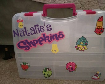 Shopkins carrying case