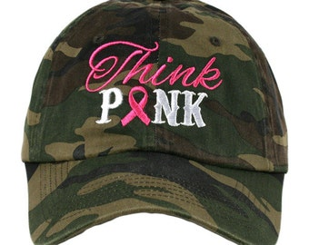 Hats {Breast Cancer} Think pink, hope, faith OR love.