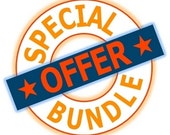 JUMBO Bundle- Original 9 sets of BulletProof Silhouette Dies, plus Rubber Sheets set, and Free Shipping in US