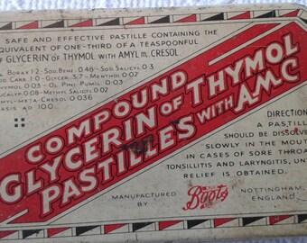 Vintage Pastilles Tin