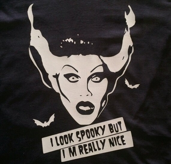 Sharon Needles Spooky t-shirt Frankenstein Bride - Rupaul Drag Race