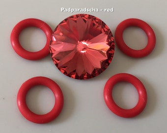 Rivo Rubba - Tutorial and Kit - Color Padparadscha / red
