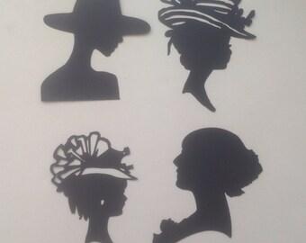 Sweet Silhouette Die Cutes/Lovely Ladies - s21