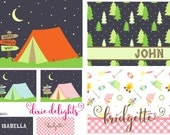 Personalized Summer Camp Note Cards Stationery