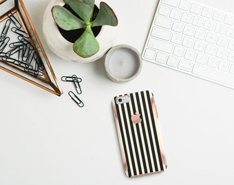 Platinum Edition Stripes Hybrid Hard Case Otterbox Symmetry iPhone 6/6s / 6s Plus / Galaxy S6 / S7 / S7 Edge