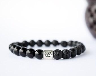Zodiac Bracelet, Men Zodiac Bracelet, Libra Mens Bracelet, Scorpio Teen Gift, Horoscope Bracelet, Sagittarius Bracelet, Aquarius Bracelet