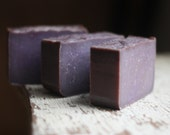 Handmade Soap - Black Amber Lavender - Cold Processed Soap - Vegan Soap