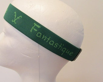 Frederic Fekkai Headband Fantastique green made in Italy