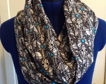 Doctor Who Cyberman Infinity Scarf