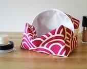 BOGO Sale Makeup Pouch - Large Cosmetic Bag - Cosmetic Pouch - Large Makeup Bag - Pink Cosmetic Bag - Travel Bag - Toiletry Bag