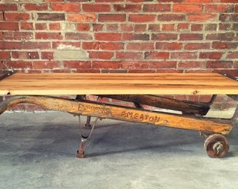 Reclaimed Dolly Coffee Table