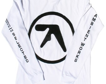 """Aphex Twin """"Selected Ambient Works"""" long sleeve T-shirt"""