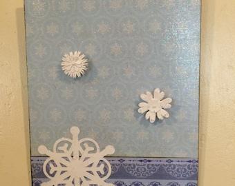 Metal Hanging Photo Board (Christmas)