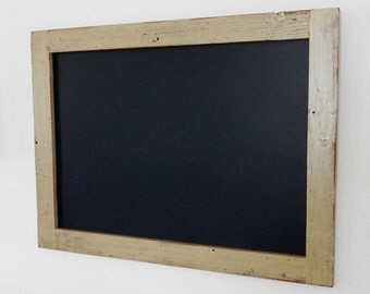 Extra Large Framed Chalkboard made from Reclaimed Wood Shown in Sage 30 x 40 *MORE COLORS AVAILABLE*