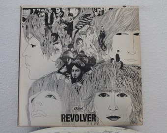 "The Beatles - ""Revolver"" vinyl record, Mono, 1966"