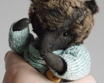 Boris the bear. Handmade teddy bear