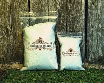 Fairy Garden Snow - Premium Fine Powder-Like Snow Christmas Village Miniature Snow Craft Supply Artificial Snow Realistic Fake Snow Buffalo
