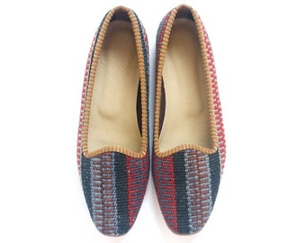 Kilim shoes. US size 9 (EU size 39)