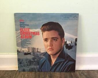 "Elvis ""Elvis' Christmas Album"" vinyl record"