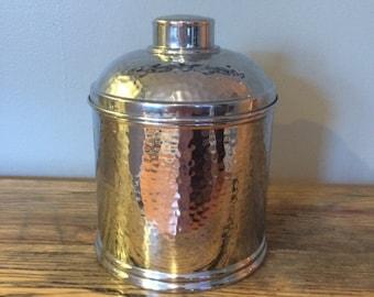 Vintage Silver Humidor