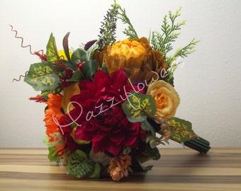 Bridal bouquet, wedding bouquet,paper flowers,bouquet paper flower,peony bouquet,autumnal bouquet,wedding flowers,bridal flower.