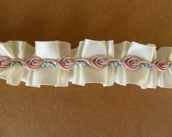 Rose and Ribbon Trim