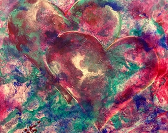 Abstract Heart Series